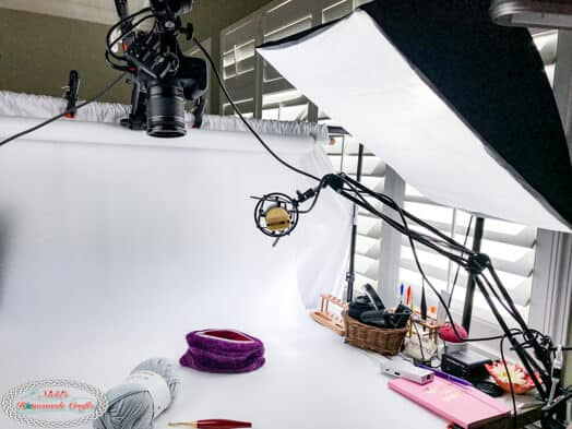 Photo and Video Studio Setup