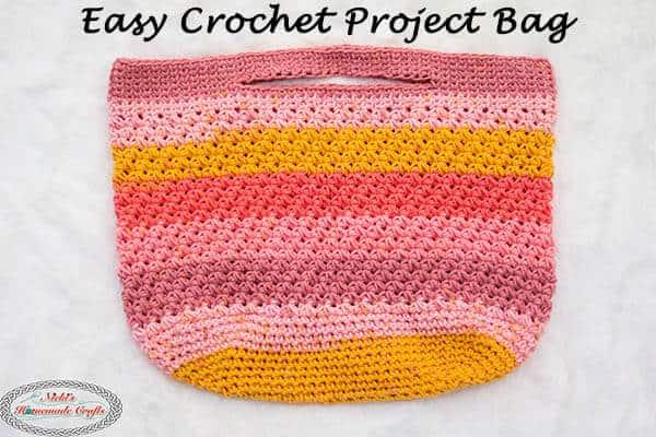 Trinity Bag - Easy Crochet Project Bag