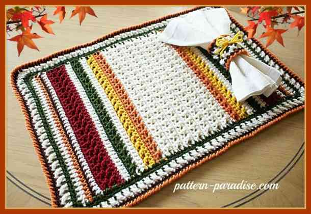 Thanksgiving Harvest And Fall Crochet Pattern Roundup