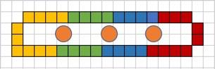 Finger diagram Apache Tears Glittens Free Crochet pattern