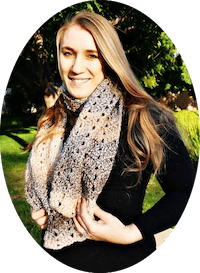 Nicole Riley, creator and blogger of Nicki's Homemade Crafts, where all crochet patterns are free and easy to make.