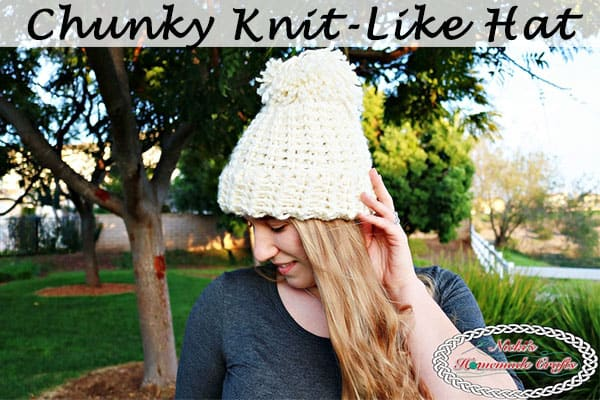 Chunky Knit-Like Hat inspired by Team USA – Free Crochet Pattern