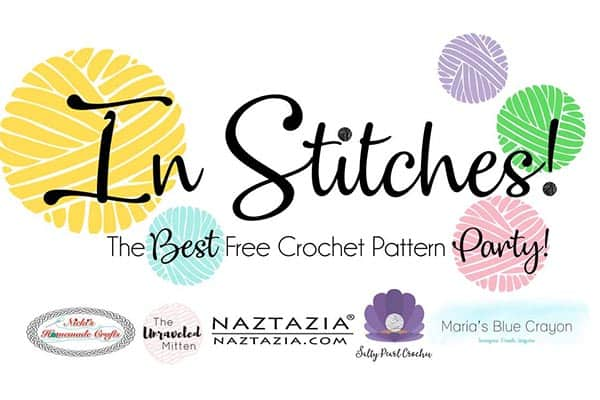 In Stitches - The Best Free Crochet Pattern Party #Crochet #linkup #party #freecrochetpattern #freepattern #yarn