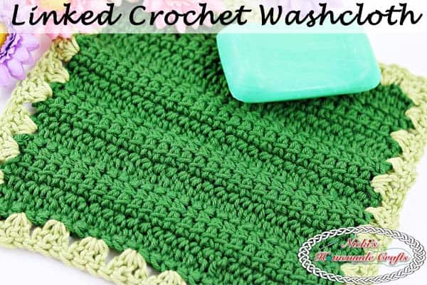 Linked Crochet Washcloth – Free Crochet Pattern