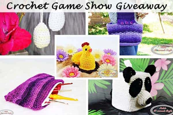 Monthly Crochet Game Show Pattern Giveaway – March 2018