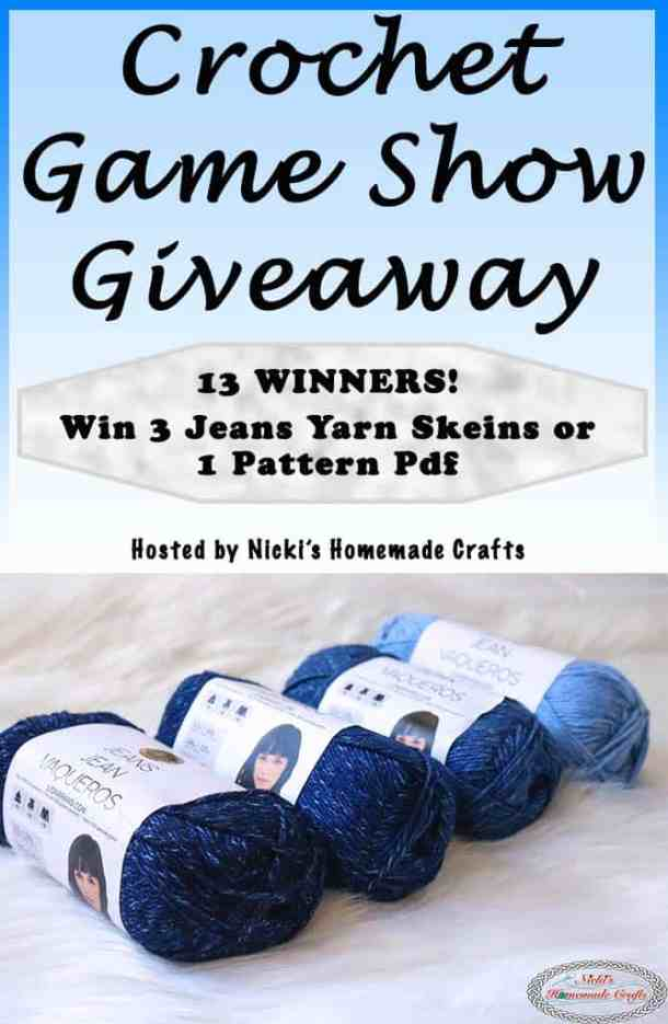 Win Lion Brand Jeans Yarn Or Crochet Pattern Pdfs During Facebook Live