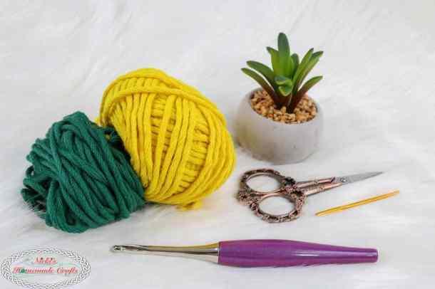 Materials list for Mystery Crochet Along