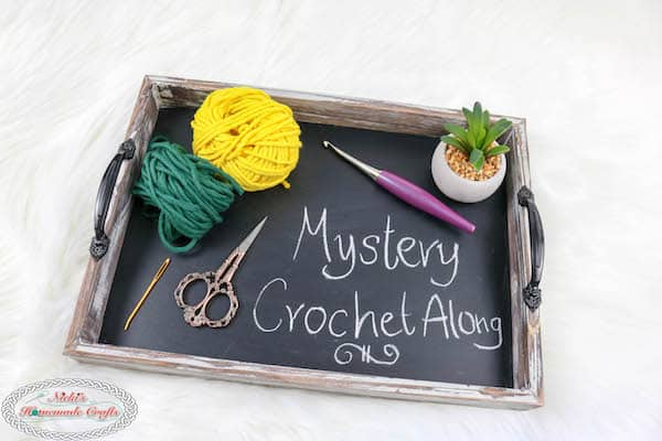 Bulky Yarn Mystery Crochet Along Part 3