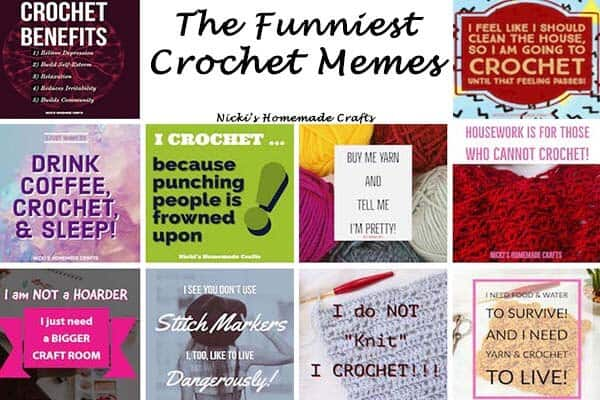 Hilarious Crochet Memes Pictures and Sayings