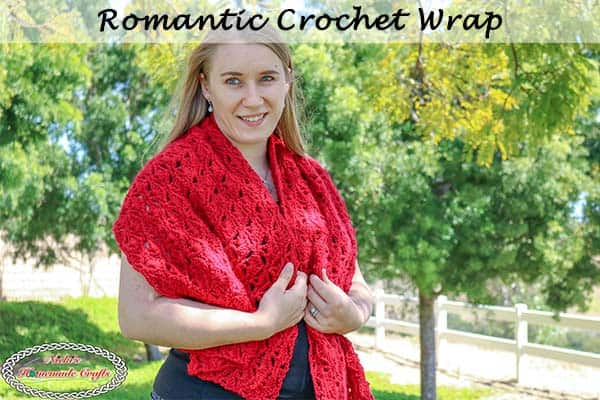 Romantic Crochet Wrap – Free Pattern