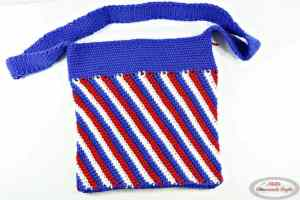 Stars and Stripes Bag for 4th of July - American Flag