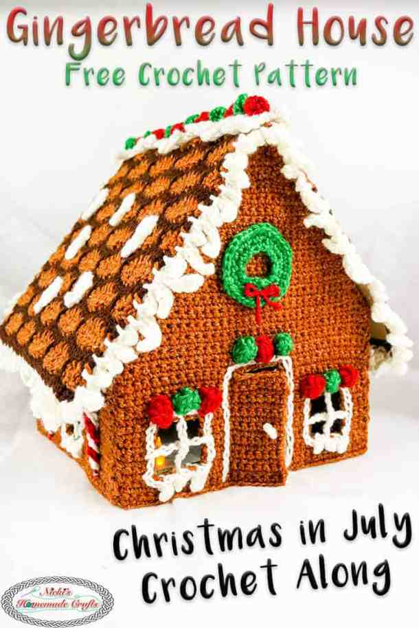Free Gingerbread House Crochet Pattern
