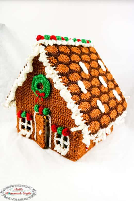 Gingerbread House Christmas in July Crochet Along