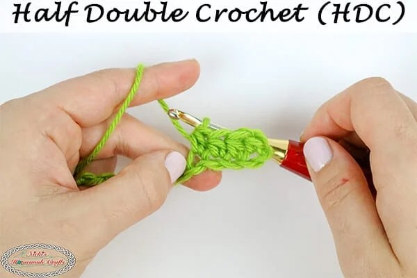 How to Crochet a Half Double Crochet – Basic Stitch Tutorial
