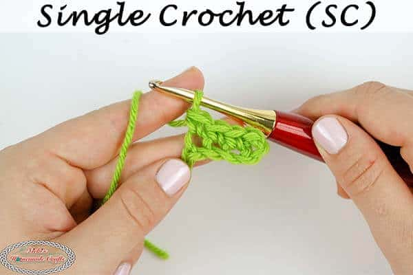 Single Crochet Tutorial with increases and decreases