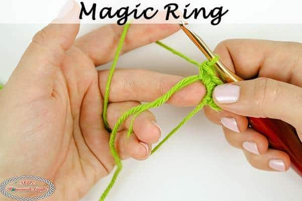 How to Crochet a Magic Circle or Magic Ring