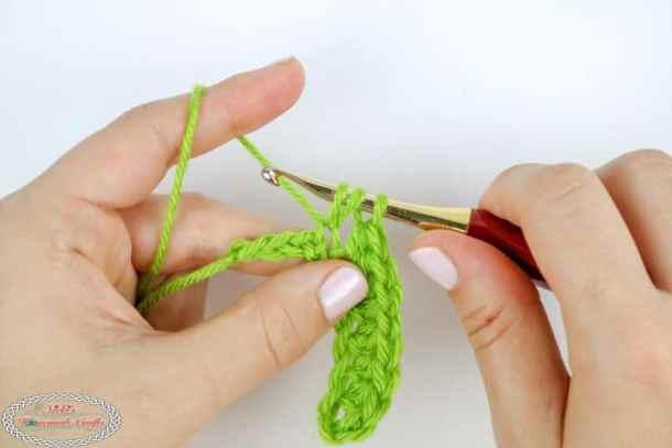 Half Double Crochet increase