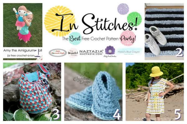 In Stitches - best Free Crochet Pattern Party #14 - Top 5