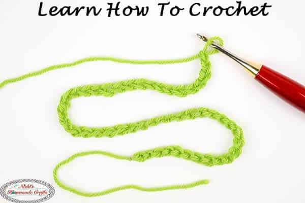 Learn how to crochet - beginner Crochet 101