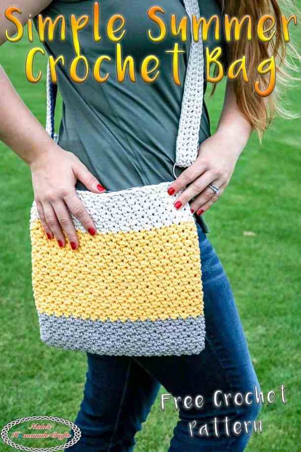 Easy Summer Crochet Bag