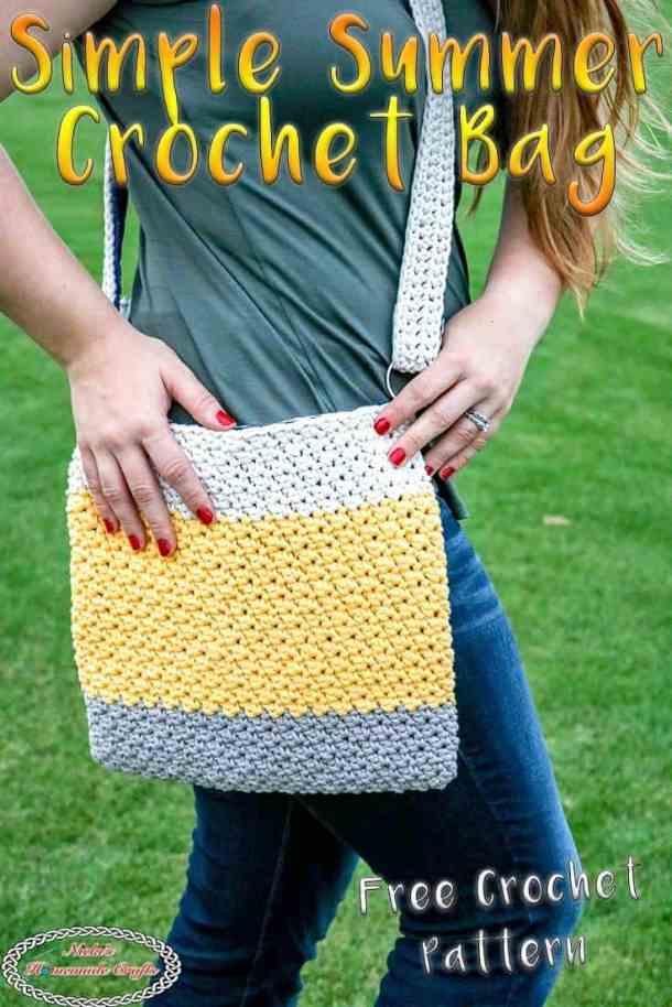 Easy Summer Crochet Bag