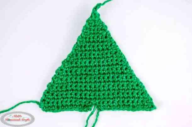 Crocheting the Small Christmas Tree