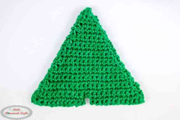Christmas Tree with plastic canvas inside