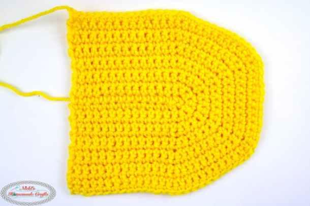 Flap for Crochet Little Backpack