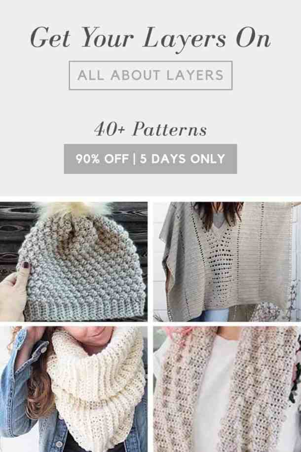 All About Layers Cochet Bundle - 5 Days only! Plus lots of Free Goodies