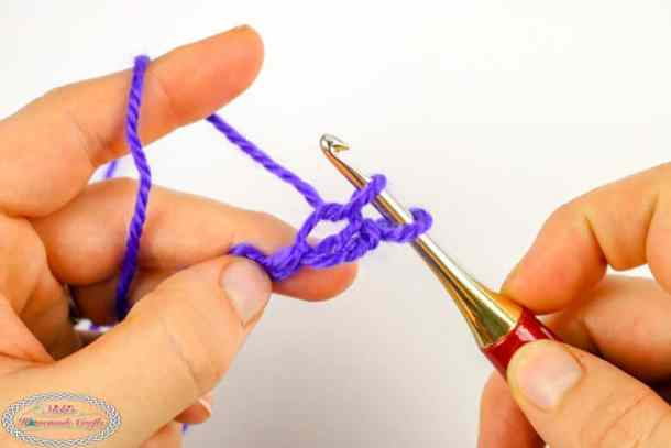 crochet bean stitch