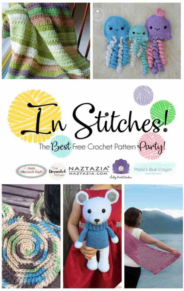 In Stitches - Best Free Crochet Pattern Party #16