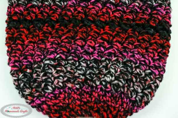 body of plastic bag holder crochet pattern