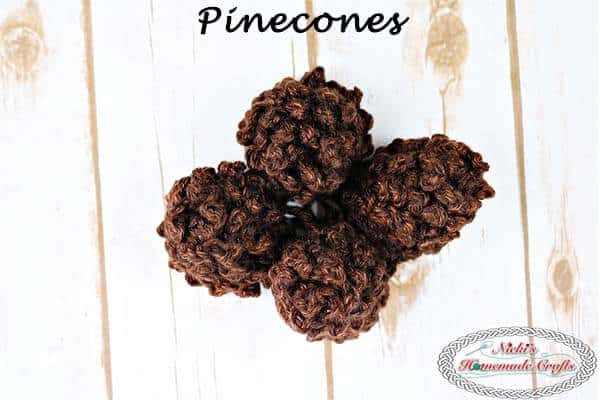 Pinecone Free Crochet Pattern