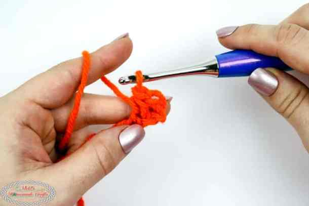 1 linked single crochet