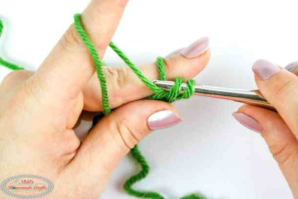 crocheting the loop stitch