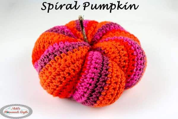 Spiral Pumpkin - Free Crochet Pattern - to Spice up Your