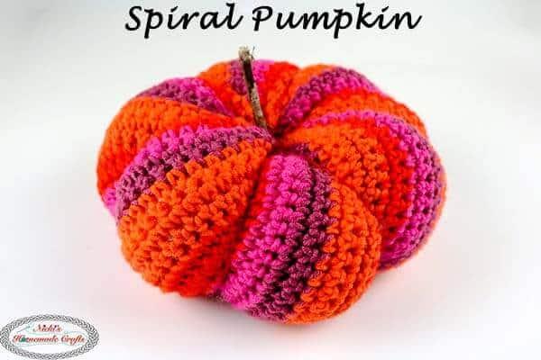 Spiral Pumpkin Crochet Pattern Free