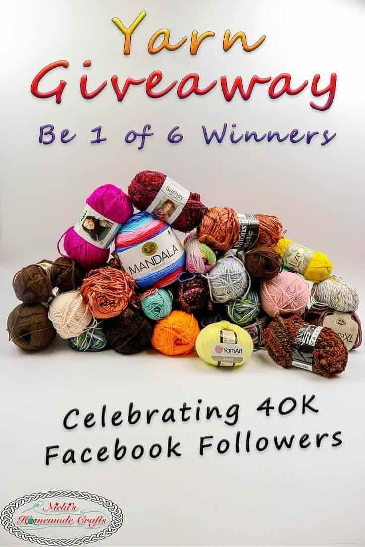 Free yarn giveaway 2018