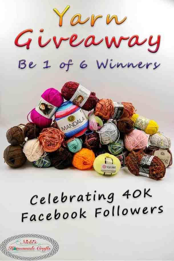 Winning Yarn - Giveaway - 40K Facebook Followers