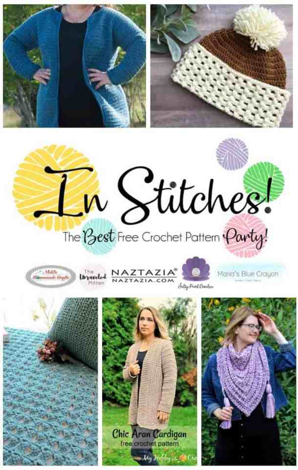 In Stitches 21 - free crochet pattern party