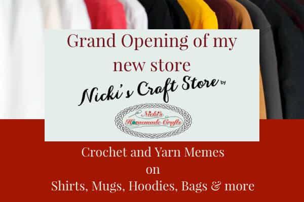 Nicki's Craft Store Grand Opening