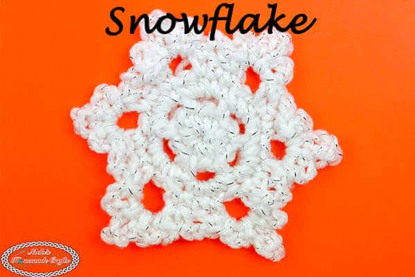 How to Crochet a Beautiful & Easy Snowflake - Free Pattern