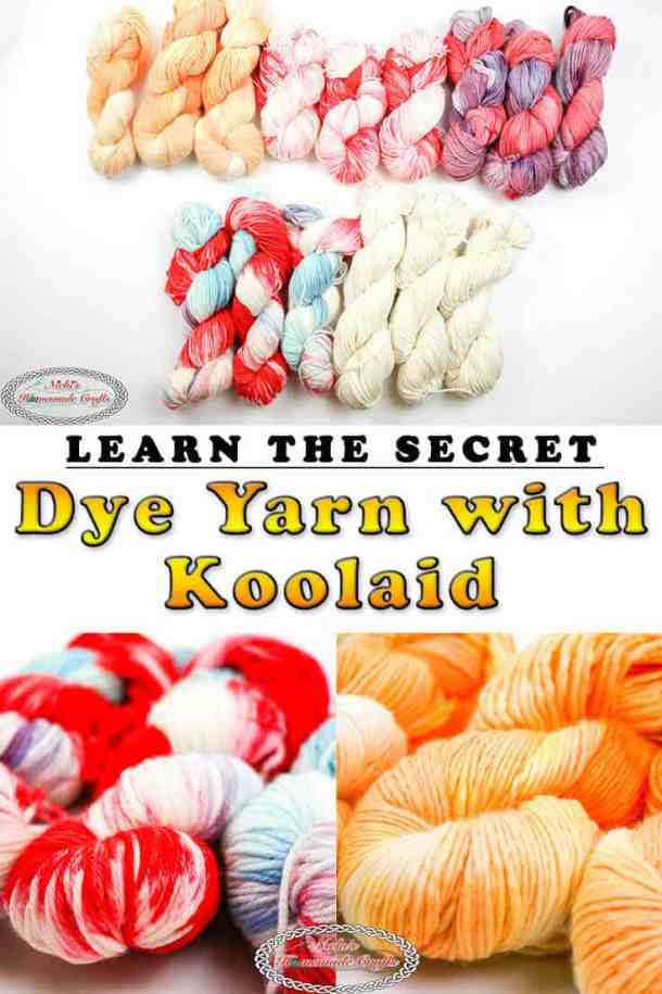 Dye Yarn with Koolaid