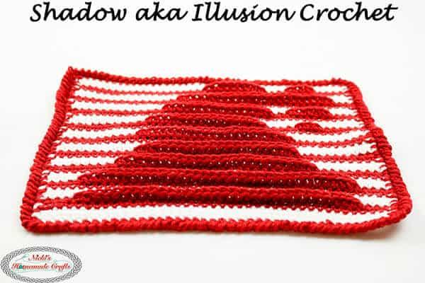 Shadow Crochet aka Illusion Crochet