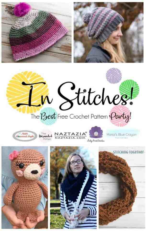 In Stitches #24 - best free Crochet pattern linkup party