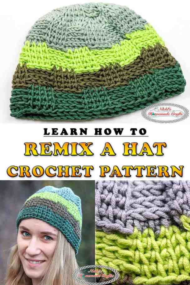 Learn to remix a Hat Crochet Pattern