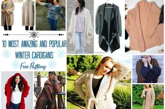 10 Most Amazing and Popular Winter Cardigans