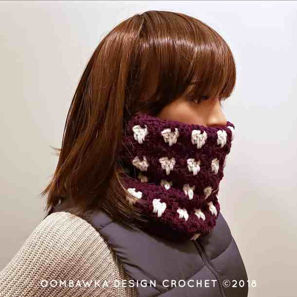 Anahata Cowl Free Crochet Pattern