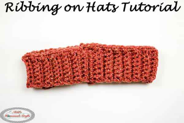 How To Crochet Ribbing On Hats Easily Bottom Up Hat Tutorial