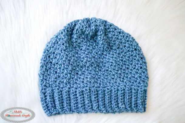 Finishing the Crochet Lemon Peel Hat